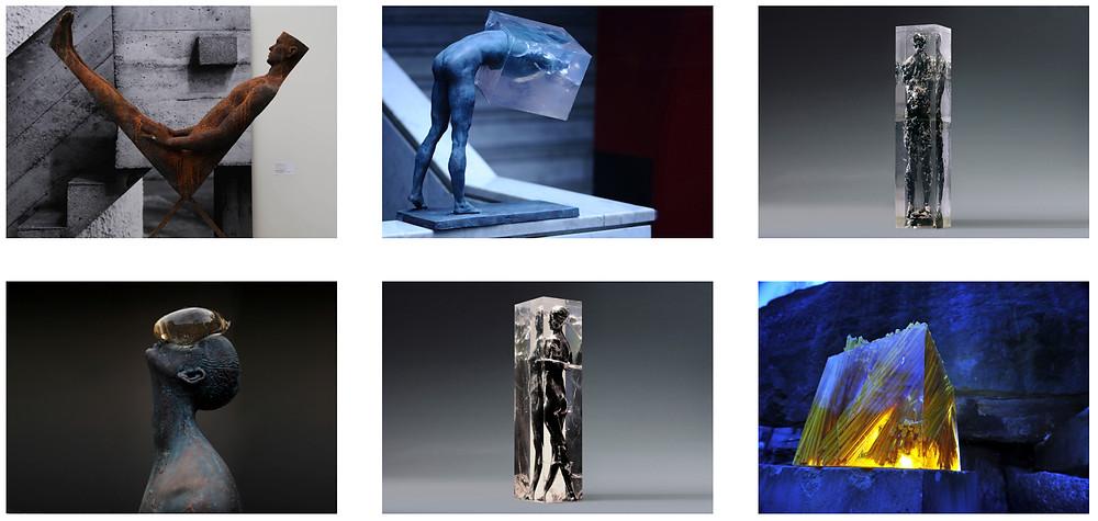 Nazar Bilyk serie di sculture