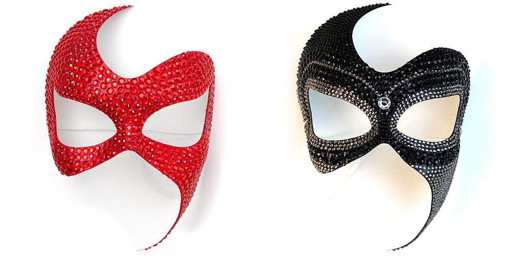 maschere sexy gioiello per discoteca