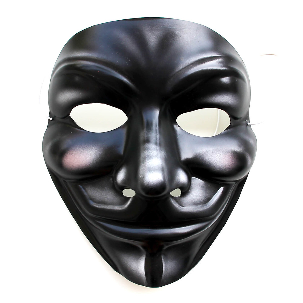 anonymous black mask