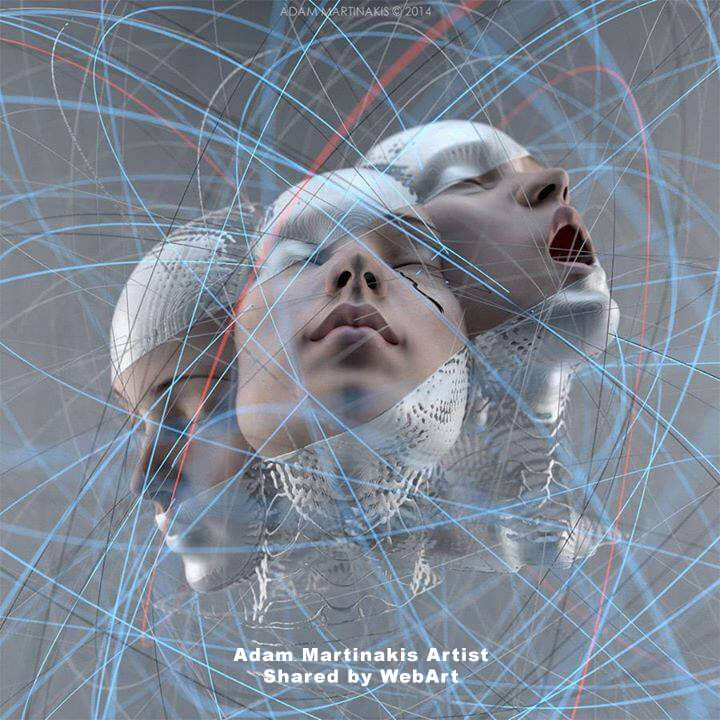 Adam Martinakis artist, gigital art