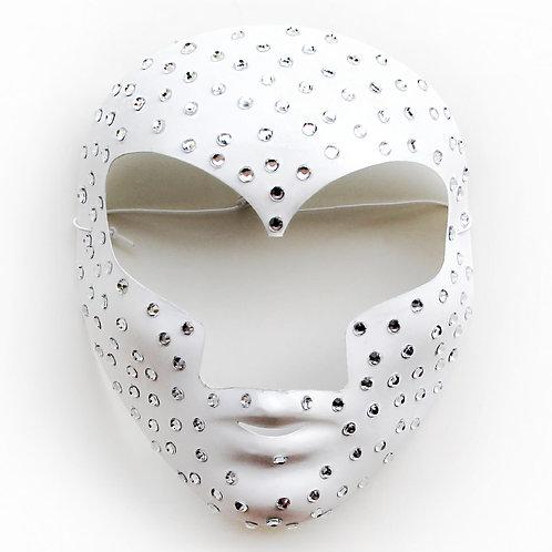 Maschera elegante bianca