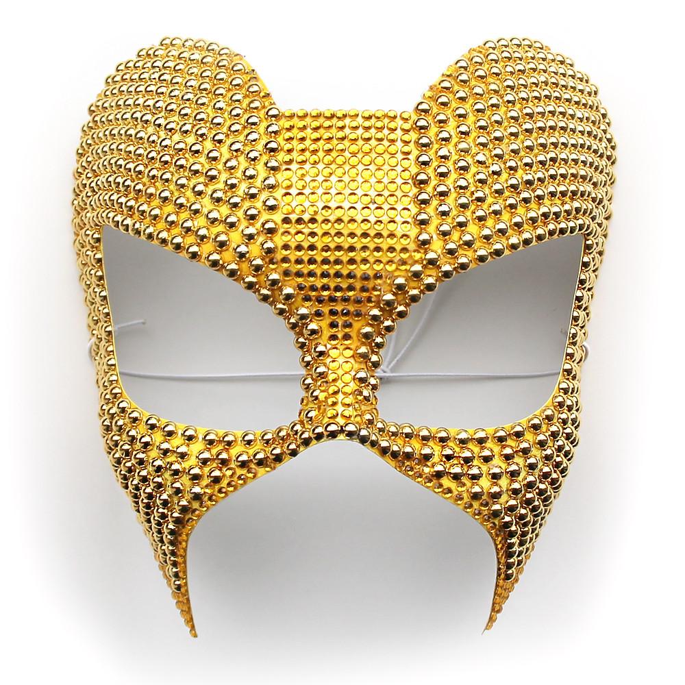 Maschera Gioiello Oro Carnevale