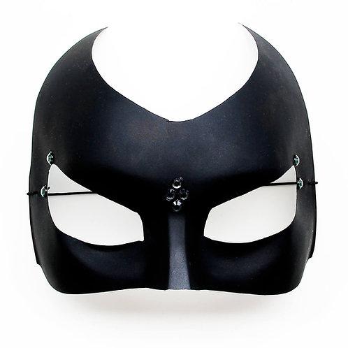 Maschera elegante nera stile Batman