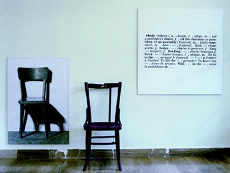 Investigazioni analitiche nell'Arte - Joseph Kosuth