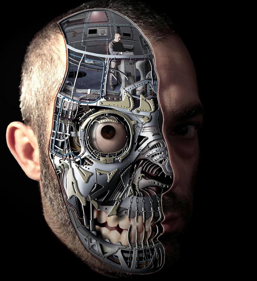 Ivan Pes cyborg art