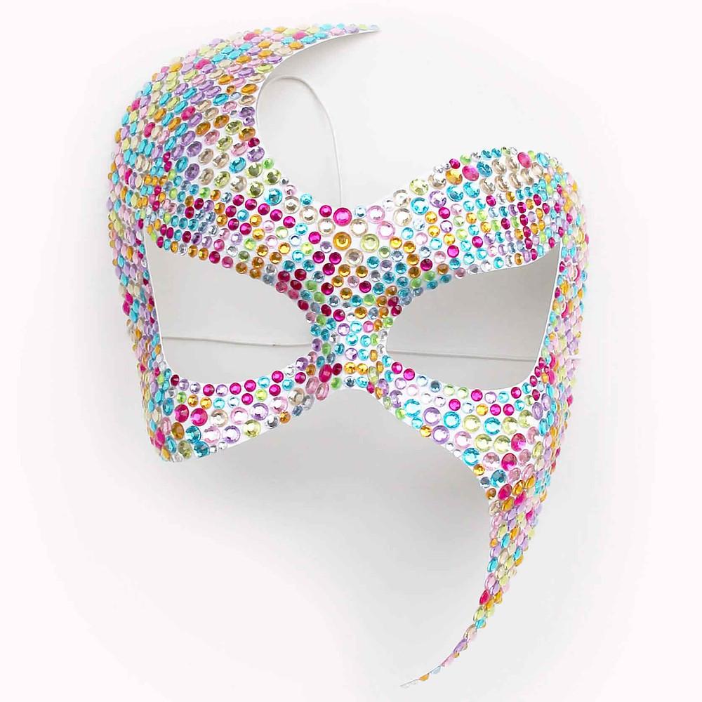 maschera sexy multicolore