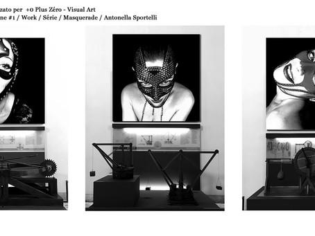 +0 Plus Zéro - Visual Art -  Fanzine Machine #1 / Work / Série / Masquerade / Antonella Sportelli