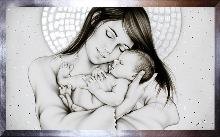 capezzale maternità sacra ArtAndFashion by Sportelli