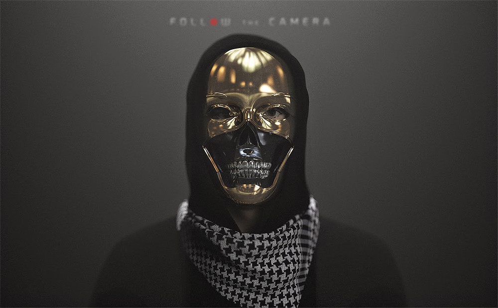 Maschera a teschio da Follow The Camera di Bastiaan Koch,
