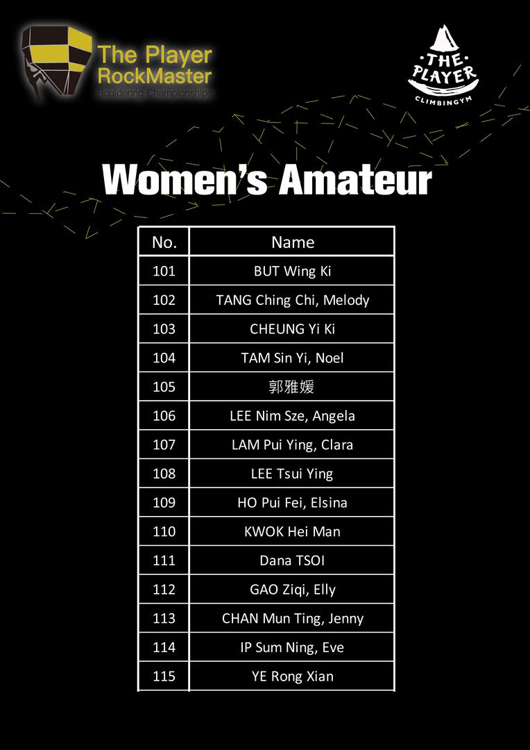 Women's Amateur