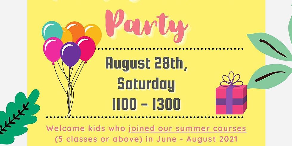 兒童暑期班派對  Kid's Summer Party