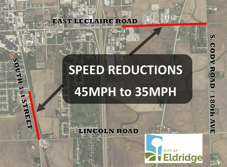 New Speed Limits in Effect