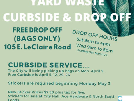 Spring Yard Waste Pickup