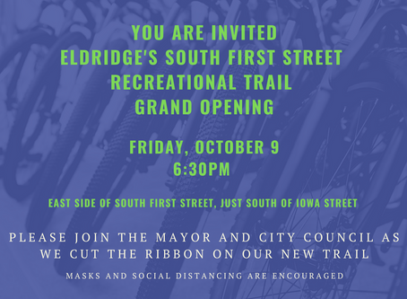 South First Street Trail Grand Opening!