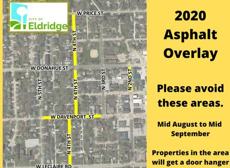 2020 Asphalt Work Begins!