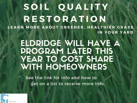 Soil Quality Restoration for Eldridge Homeowners