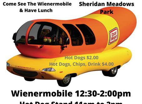 Visit the WeinerMobile in Eldridge July 30!