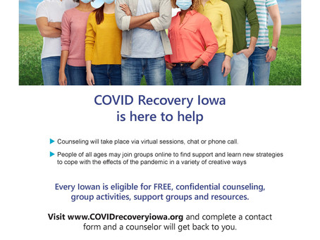 Free Counseling Available to Help With COVID-19 Related Mental Health Issues