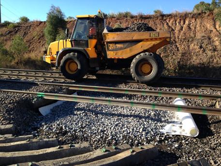 Ballast Undercutting Works