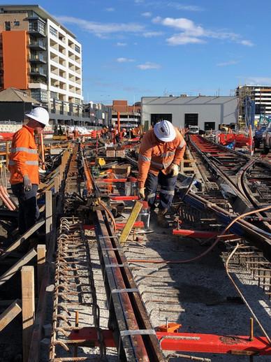 Light Rail Construction