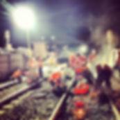 Railway adjustment welding - Rail Construction