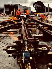 Light Rail Welding