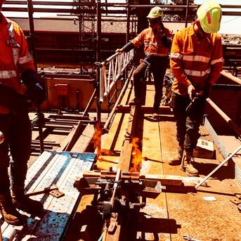 Crane Rail Welding