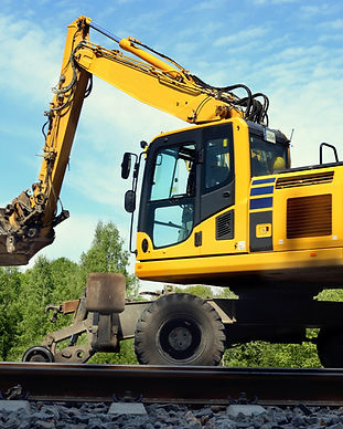 I M Rail Equipment - Excavator