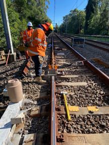 Aluminothermic Welding - Rail Defect Removal