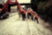 New concrete sleeper installation - Railway Construction