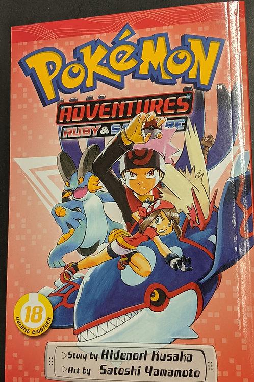 Pokémon Adventures (Ruby and Sapphire), Vol. 18