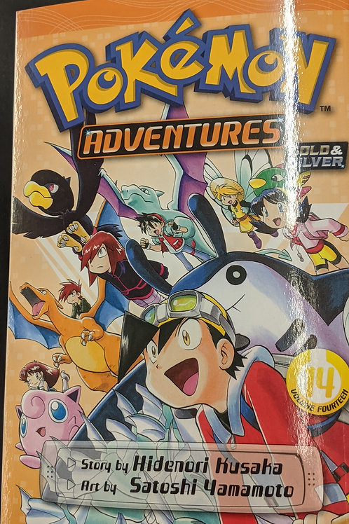 Pokémon Adventures (Gold and Silver), Vol. 14