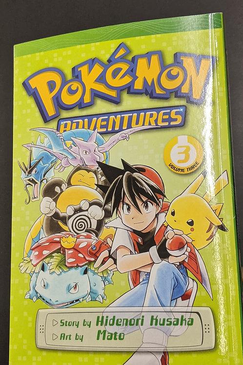 Pokémon Adventures (Red and Blue), Vol. 3