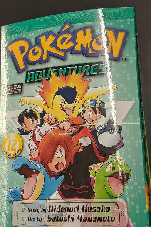 Pokémon Adventures (Gold and Silver), Vol. 12