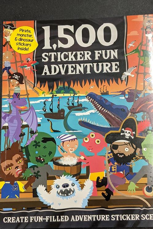 1,500 Sticker Fun Adventure