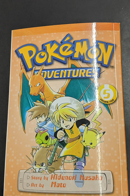 Pokémon Adventures (Red and Blue), Vol. 5