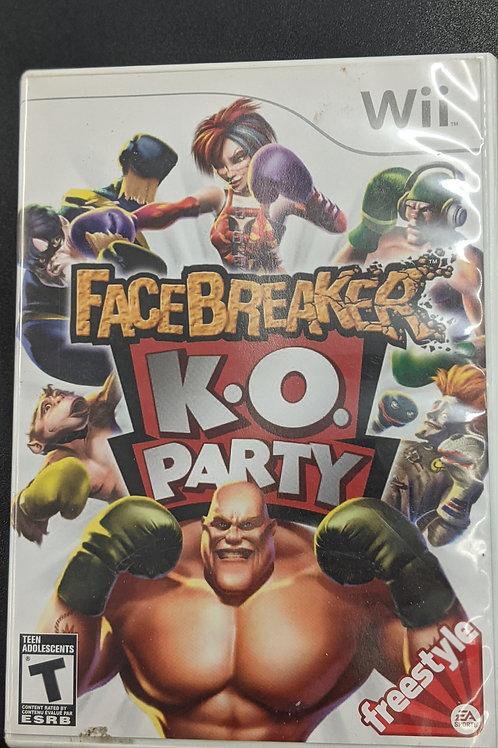 Facebreaker KO Party