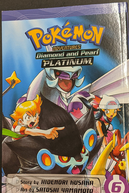 Pokémon Adventures: Diamond and Pearl/Platinum, Vol. 6