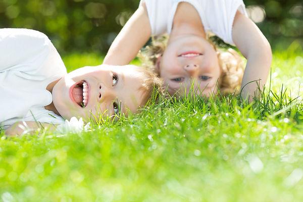 Behandling af allergi - Glade børn