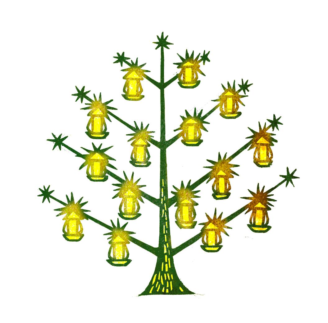 灯りのなる木