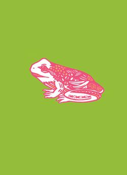 スピリットアニマル-カエル
