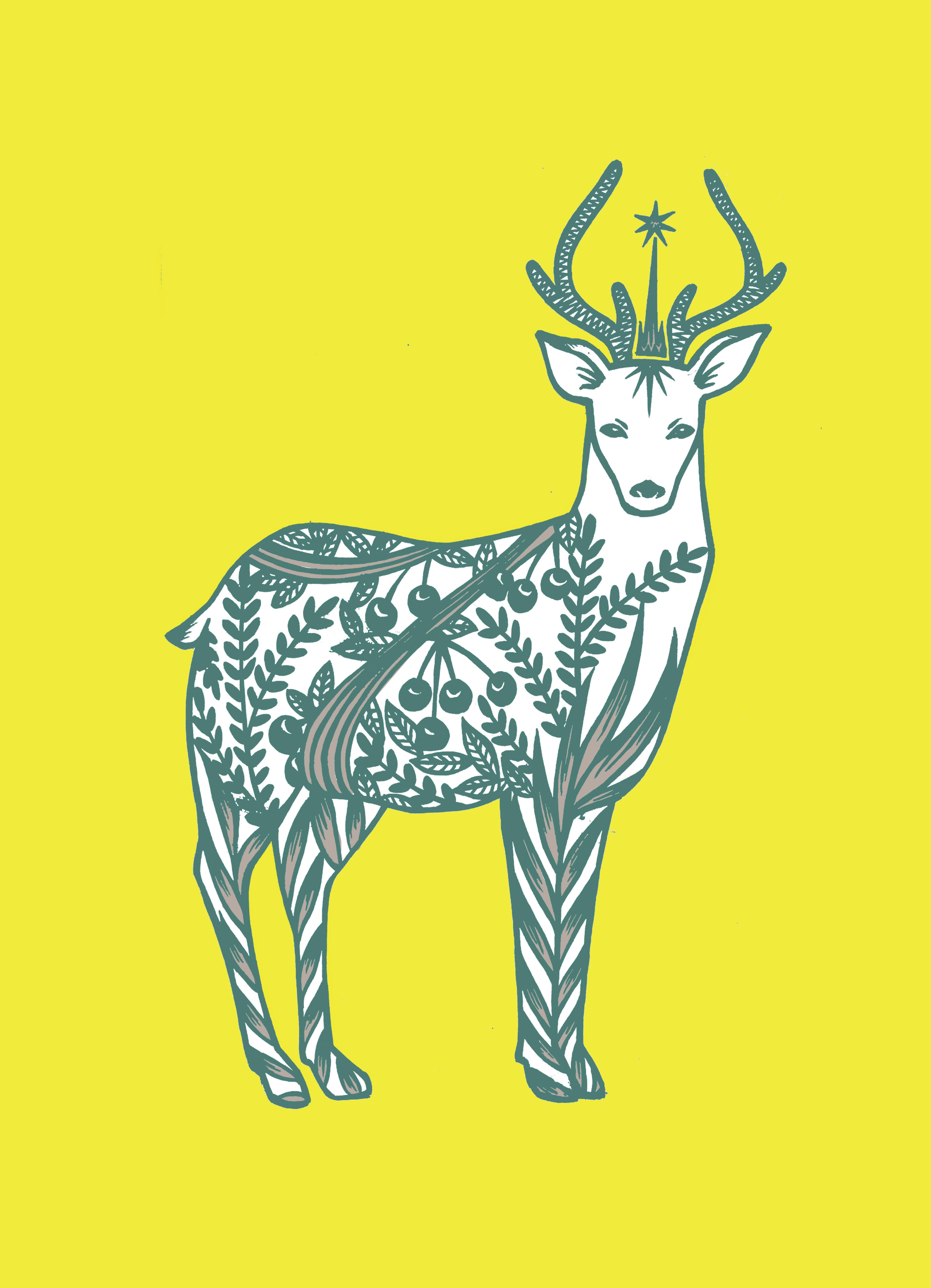 スピリットアニマル-鹿
