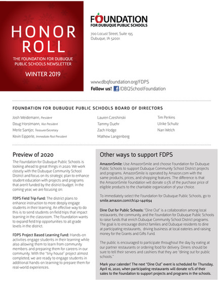 FDPS Newsletter Page 4
