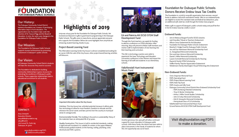 FDPS Newsletter Page 2 & 3