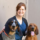Brianna and Her Dogs