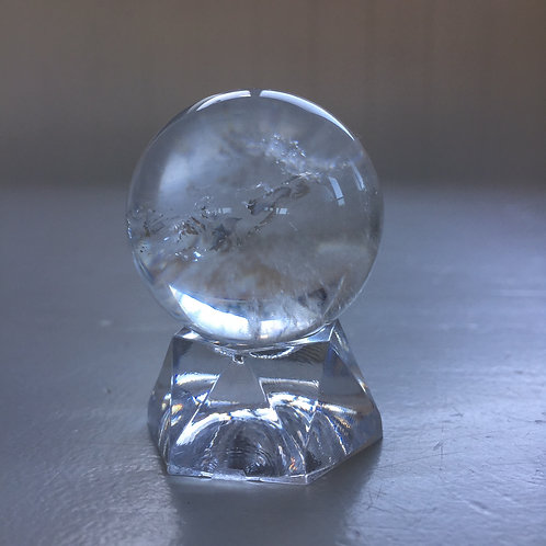 Quartz Sphere with stand
