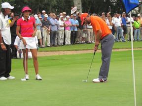 Sergio García y Verónica Cilibert