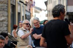 Roberto con Garrison Fewell
