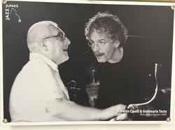 Roberto con Gianmaria Testa