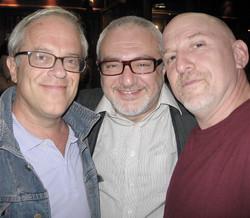 Attilio, Roberto e Adam Nussbaum